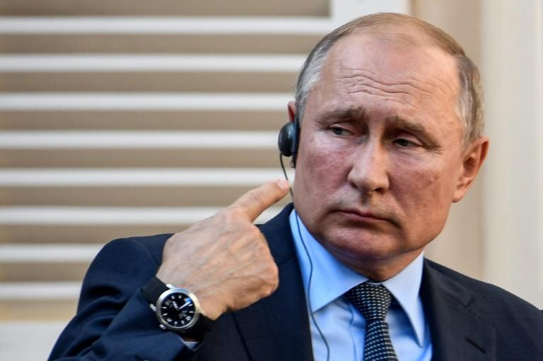 Russia's President Vladimir Putin says it was the United States that broke the INF treaty, not Russia (AFP Photo/GERARD JULIEN)
