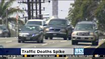 Traffic Deaths Nationwide Up Over Last 6 Months