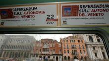 Italy regions vote on autonomy bid