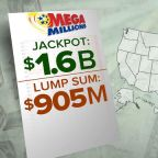 $1.6 billion Mega Millions jackpot largest in history