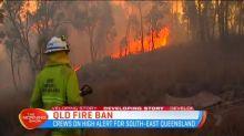 Queensland on high bushfire alert