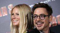 Downey Jr., Paltrow Tout 'Iron Man 3'