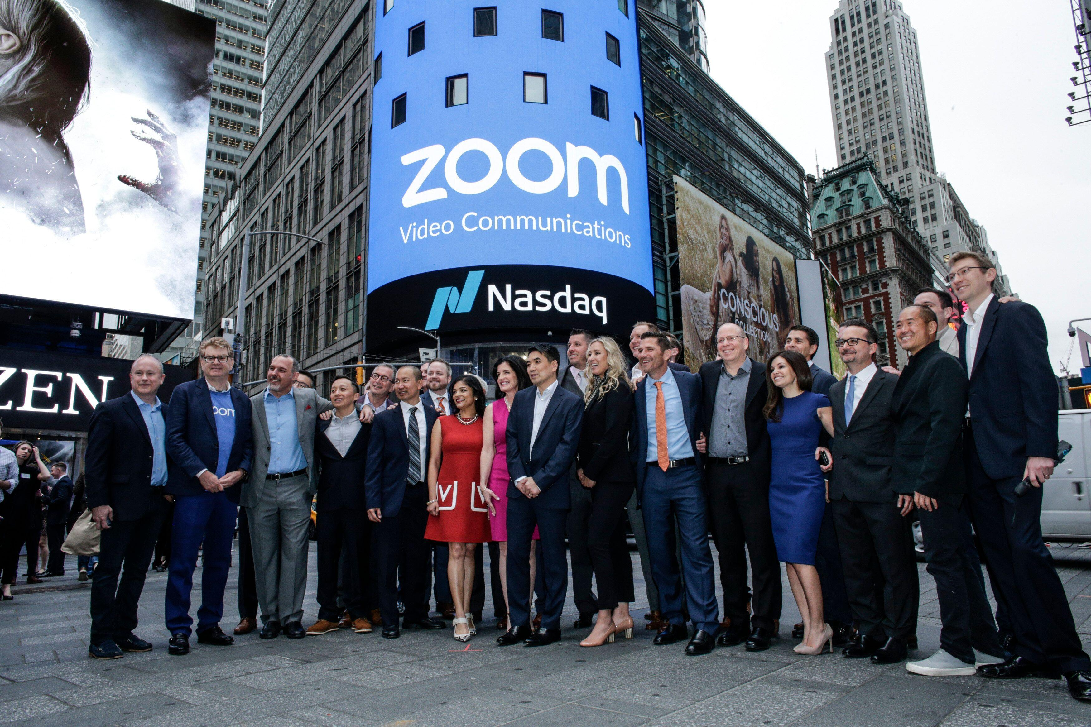 Zoom shares surge after reporting quarterly sales beat