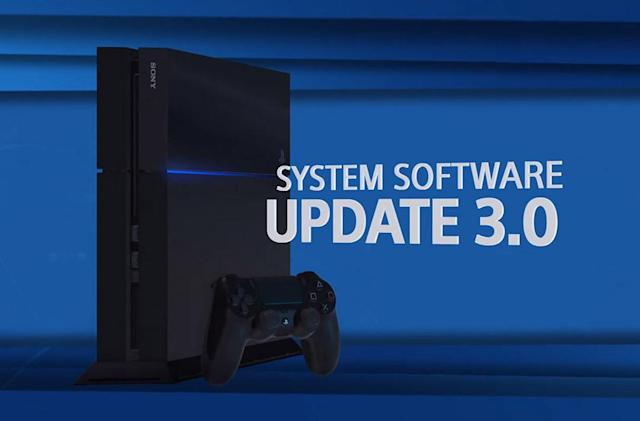 Sony's big PlayStation 4 update arrives tomorrow