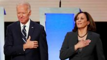 Democrat Biden and new running mate Harris to make first campaign appearance