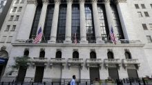 Markets Right Now: Banks lead US stocks broadly higher