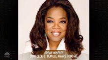 Oprah Winfrey named as 2018 Cecil B. DeMille Award recipient