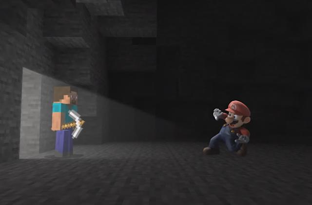 The next 'Super Smash Bros. Ultimate' fighter is Steve from 'Minecraft'