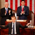 Friends or not, France's Macron challenges Trump in Congress speech