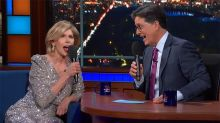 Stephen Colbert and Christine Baranski Bring Sondheim Back to Broadway With 'Side by Side' Duet