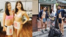 Loincloths are making a comeback this summer in Japan