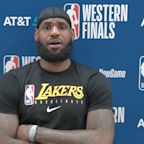 LeBron James: 'I have never, in my 35 years, condoned violence'