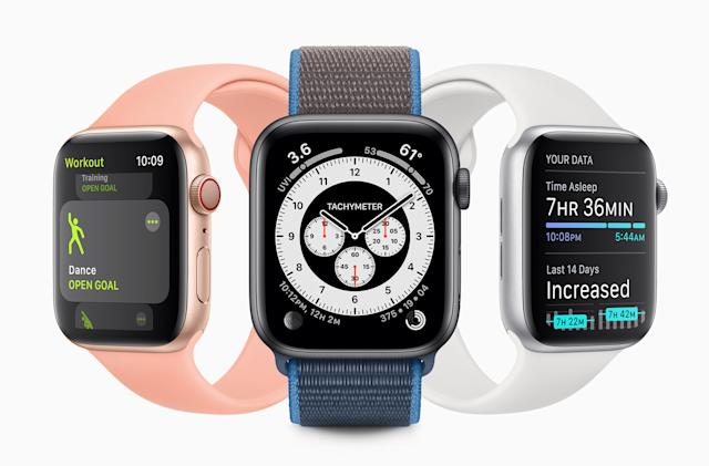Apple's watchOS 7 includes sleep tracking and an upgraded Fitness app