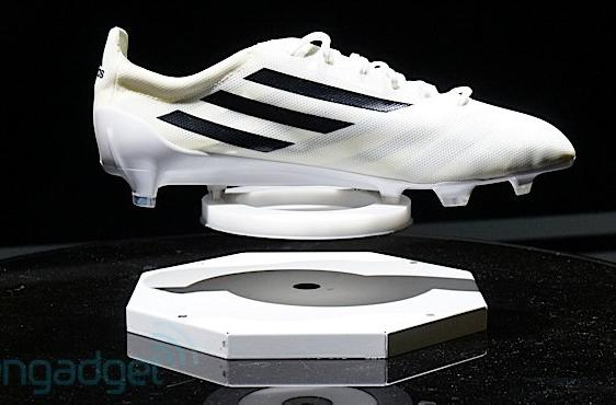 Adidas labs unveils 99-gram adizero soccer boot and smart ball to help raise your game