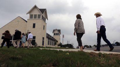 Texas church opens new sanctuary 18 months after massacre