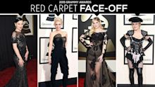 Grammys Red Carpet Face-Off: Madonna, Gwen Stefani & More