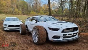 「最野」的「野馬」!Ford Mustang Mk6超奇特「超大腳」改裝