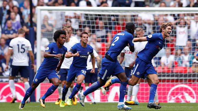 What crisis? Chelsea bounces back vs. Spurs