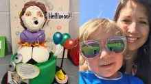 4-year-old celebrates birthday with 'Mrs. Doubtfire'-themed party