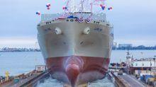 Matson Christens First Kanaloa Class Vessel 'Lurline'