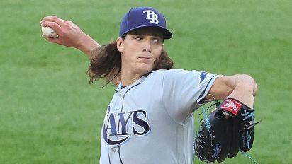 Rays' Glasnow says MLB policy led to injury