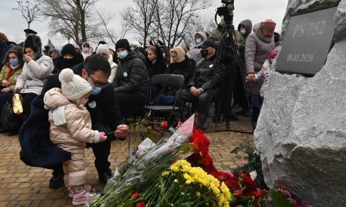 Iranian officials should be charged over shooting down of Ukrainian plane, UN expert says