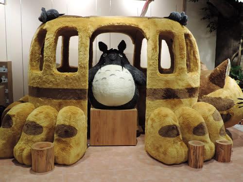 店內最貴的商品就是大型貓巴士內的「大龍貓超特大」