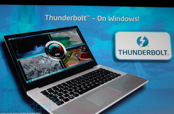 Intel: Thunderbolt coming to PCs, prototype shown at IDF 2011 (update: video!)