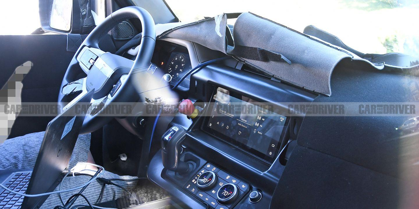 This Is the New Land Rover Defender's Production Interior