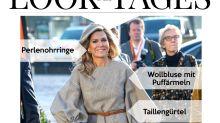 Look des Tages: Königin Máxima stilsicher in kleinkariert