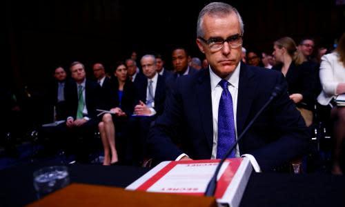 The Threat review: Andrew McCabe FBI memoir aims at 'mob boss' Trump