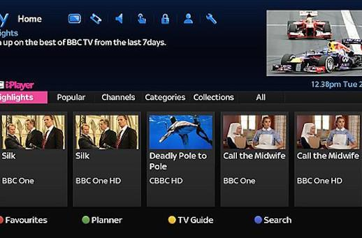 BBC brings its revamped iPlayer to Sky+ HD boxes