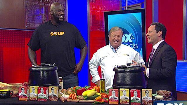 Shaq gets serious about helping hungry kids