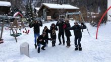 PHOTO: Sushant Singh Rajput and Kriti Sanon holiday together in Alps