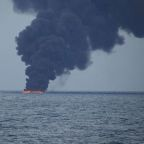 Japan sees little chance of oil slick from sunk tanker reaching its coast
