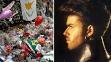 Fans paid tribute to George Michael a year after his death