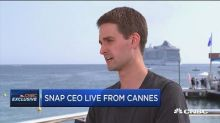 Snap CEO Evan Spiegel on competing with Facebook