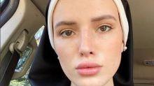 Bella Thorne, ex-atriz da Disney, se veste de freira para filme após anunciar carreira pornô