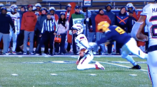 Toledo football player ejected after one of the nastiest targeting penalties you'll see