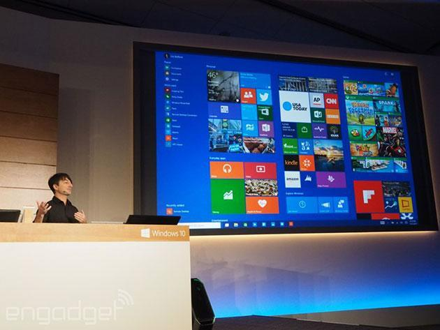 Universal Office apps for Windows 10 are now available for preview