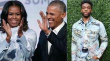 Michelle et Barack Obama rendent hommage à Chadwick Boseman