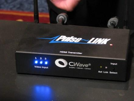 Westinghouse & Pulse-Link's Wireless HDMI live @ CES