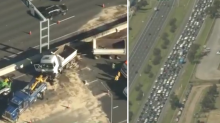 Nightmare Friday traffic across Melbourne after three truck crashes