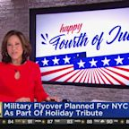 July 4th Military Flyover This Evening In New York City