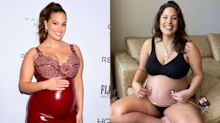 Ashley Graham is working to teach women how to embrace pregnancy — stretch marks and all