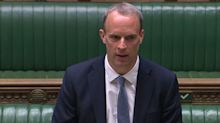 Raab suspends Hong Kong extradition treaty and extends arms embargo