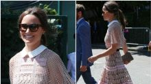 Pippa Middleton just wore the classiest version of the naked dress