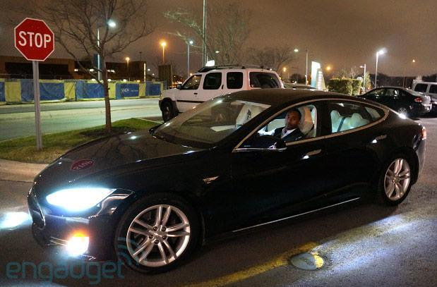 Tesla gives Uber a Model S boost at SXSW, so come on and take a free ride