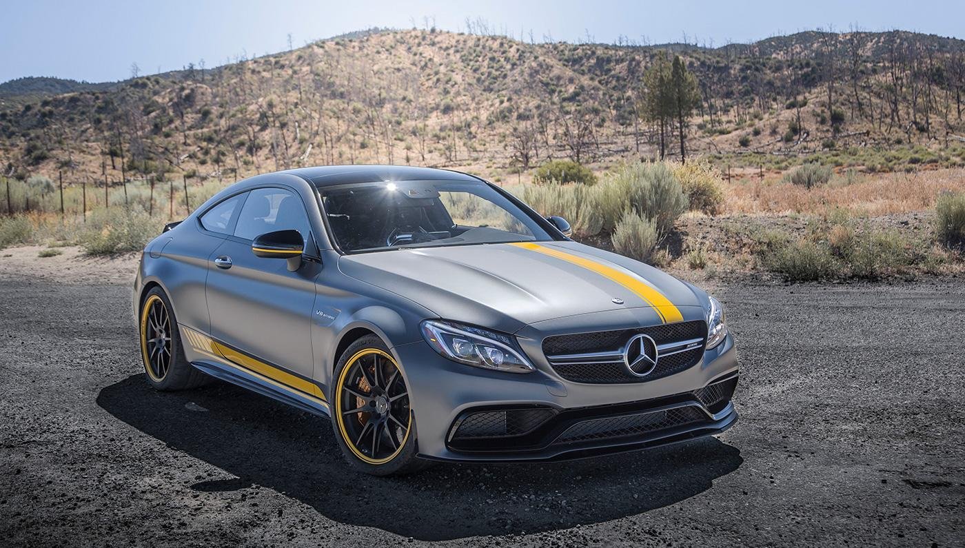 l a driving in the mercedes amg c63 s coupe. Black Bedroom Furniture Sets. Home Design Ideas