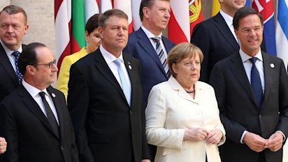 European leaders gather to mark 60th anniversary of Treaty of Rome